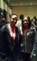 Me and US Olympic Athlete Allyson Felix at SXSW